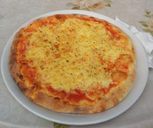 Pizza Margherita vulkanischen Ursprungs
