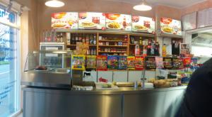 Differenzierungsmerkmal Kiosktheke