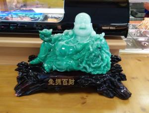Der Jade Buddha kommt zu Besuch aus Shanghai immer zum Drachen im real-Markt